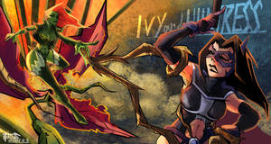 Ivy and Harley X Birds of Prey 05