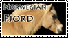 Norwegian Fjord Stamp 1 by Marbletoast