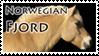 Norwegian Fjord Stamp 1 by Marbletoast