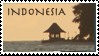 Indonesia Stamp 2 by Marbletoast