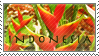Indonesia Stamp 3 by Marbletoast