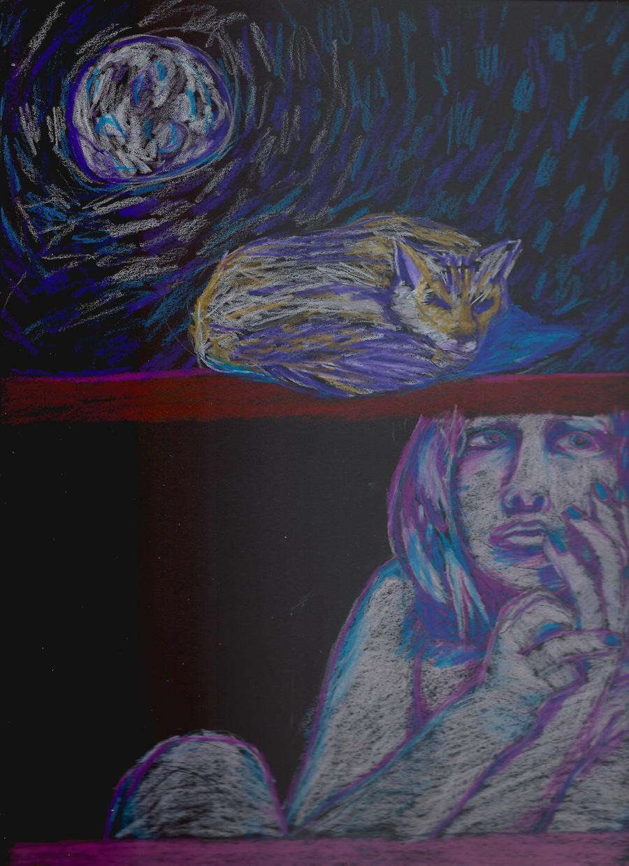 Moon Fox Girl by Zachary-Ryals