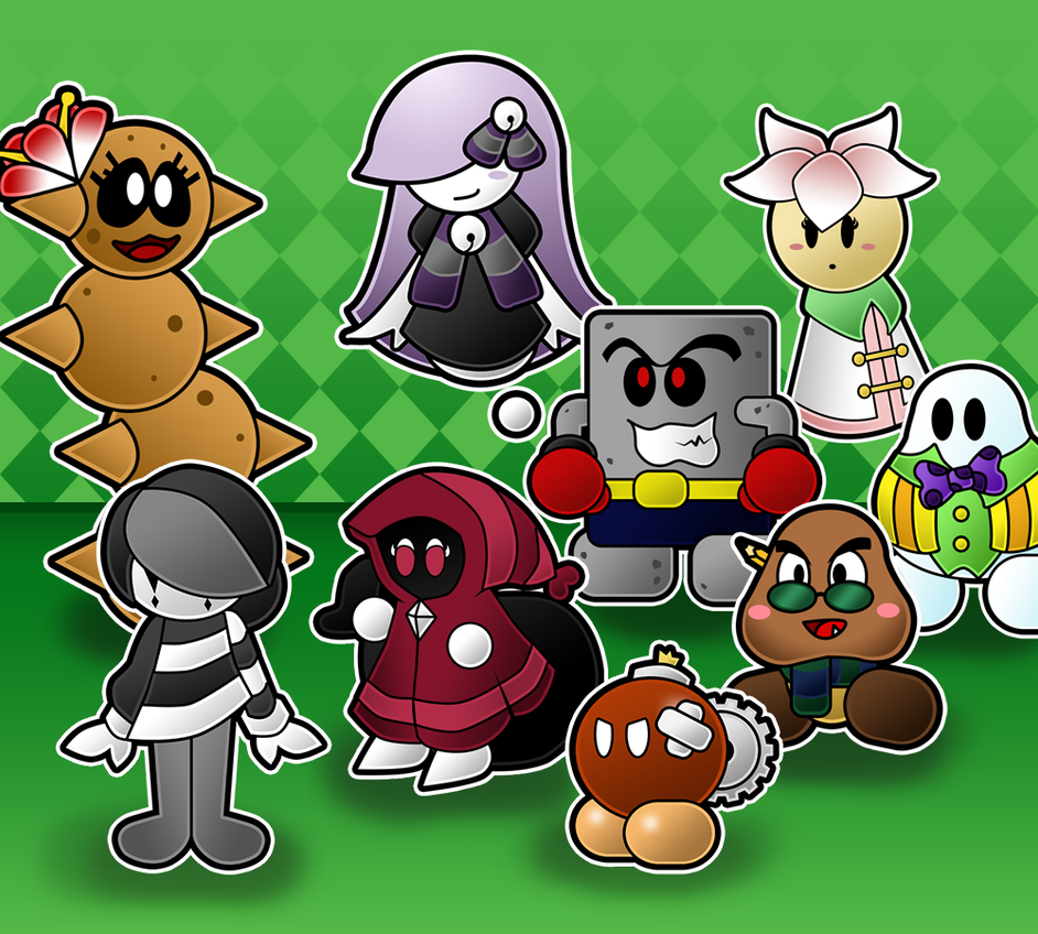 paper mario the unstory book partners by antsylamasque on