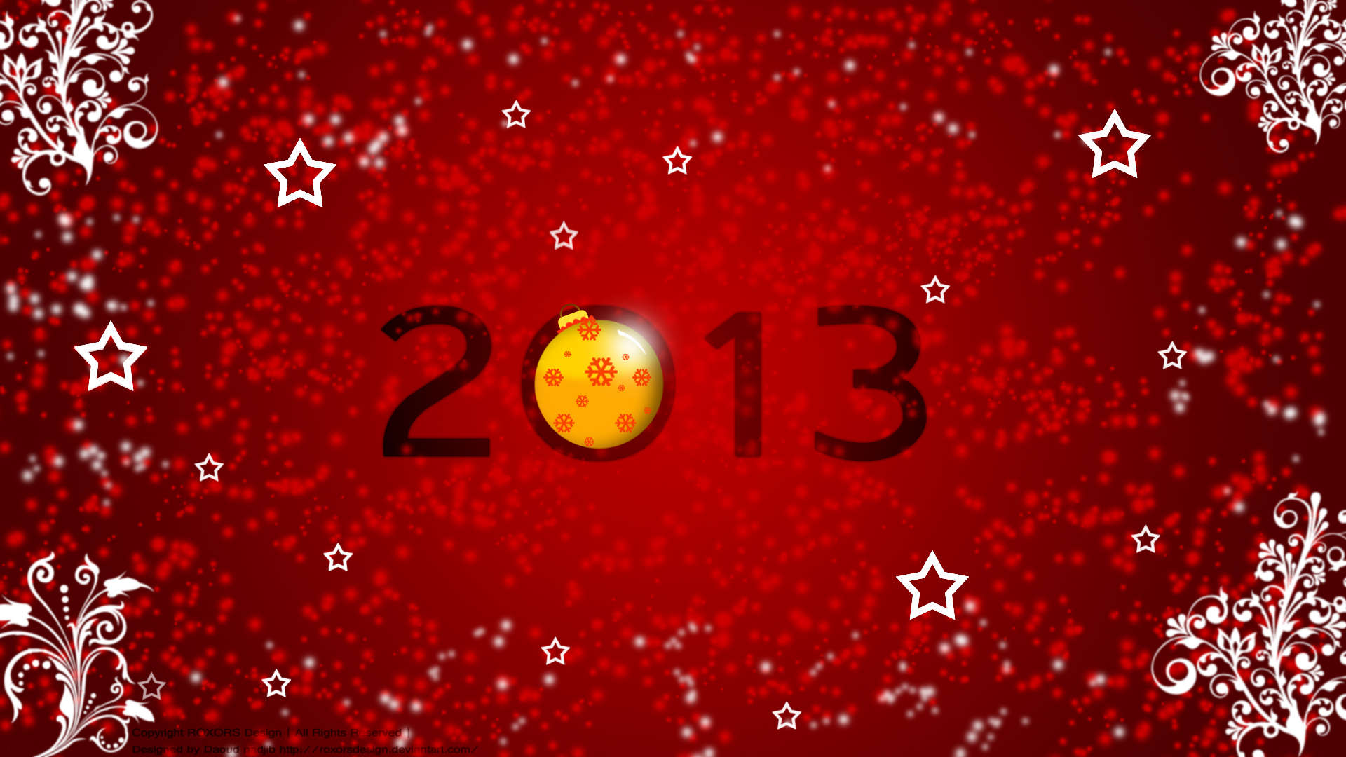 happy New Yeah 2013 #1 by ROXORSDesign