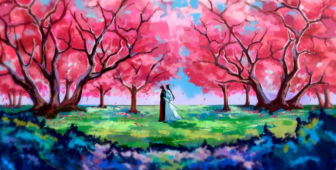 Meeting under the Sakura