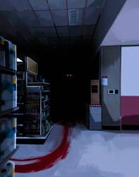 Shhhh... Someone is hiding in the dark...