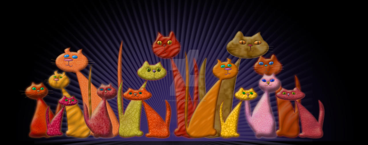 the vector cats