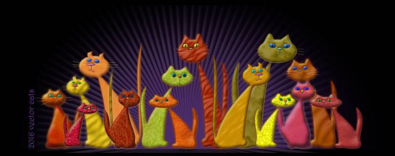 Vector Cats 2016 10th aniversary edition v1