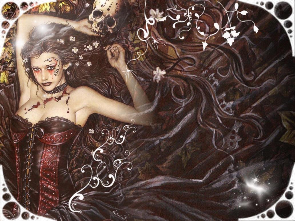 Victoria Frances Wallpaper 2 by MilchMaedchenJane