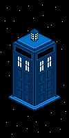 TARDIS - Pixel Art by TranquilTornado