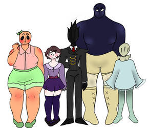 gay monsters and their human by thealmightyE