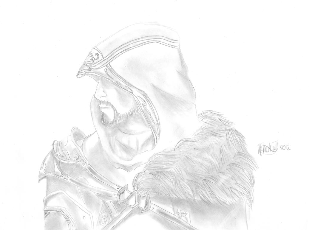 Ezio Auditore da Firenze by Countess-Nynke