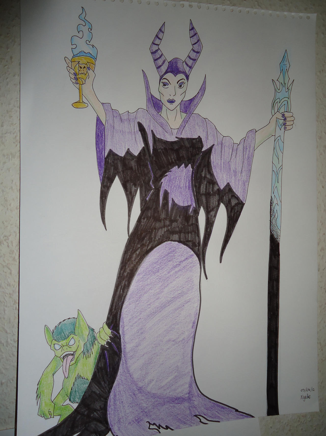 Evil queen by Countess-Nynke