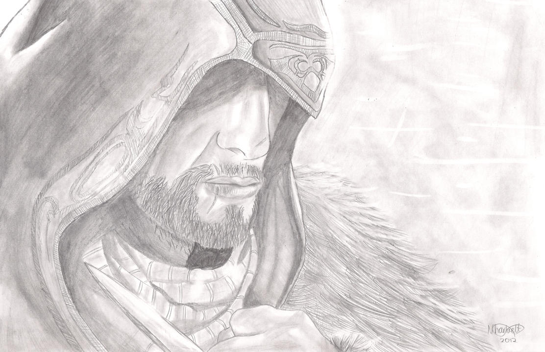 Ezio from AC: Revelations by Countess-Nynke