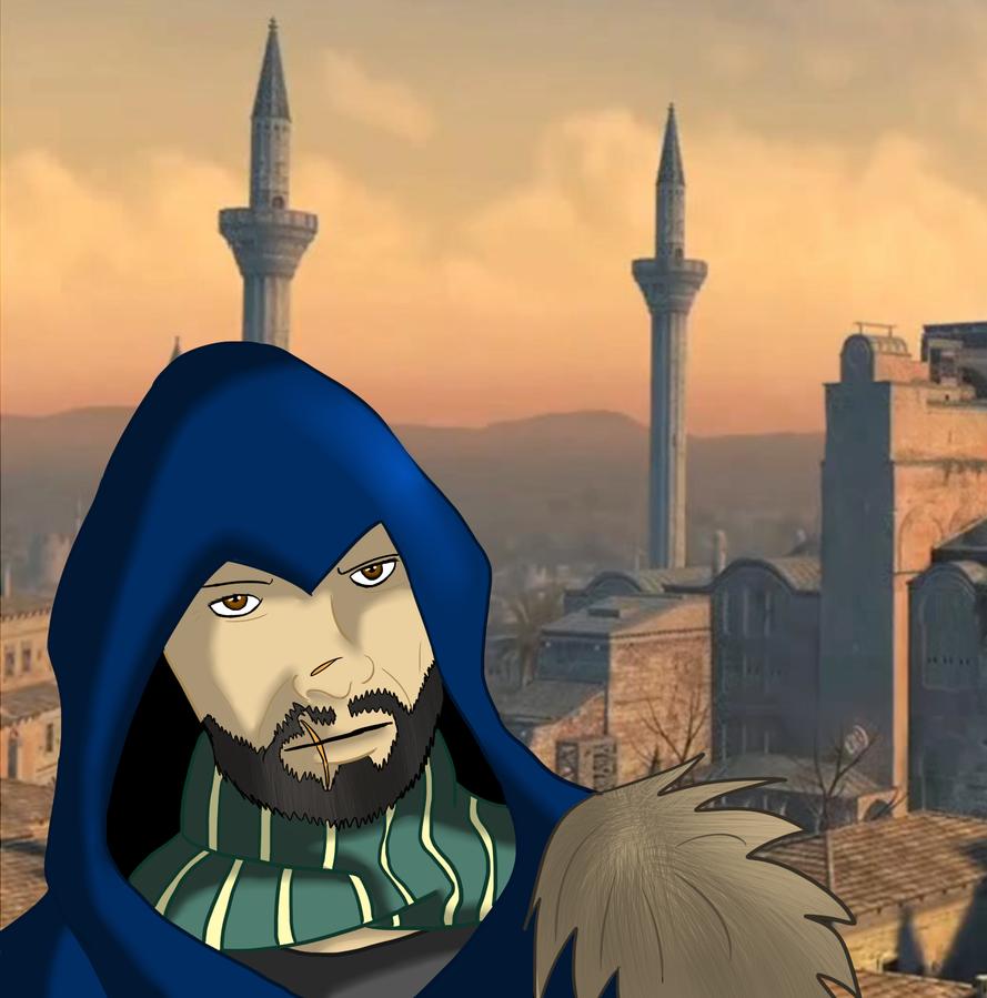 Old Ezio by Countess-Nynke