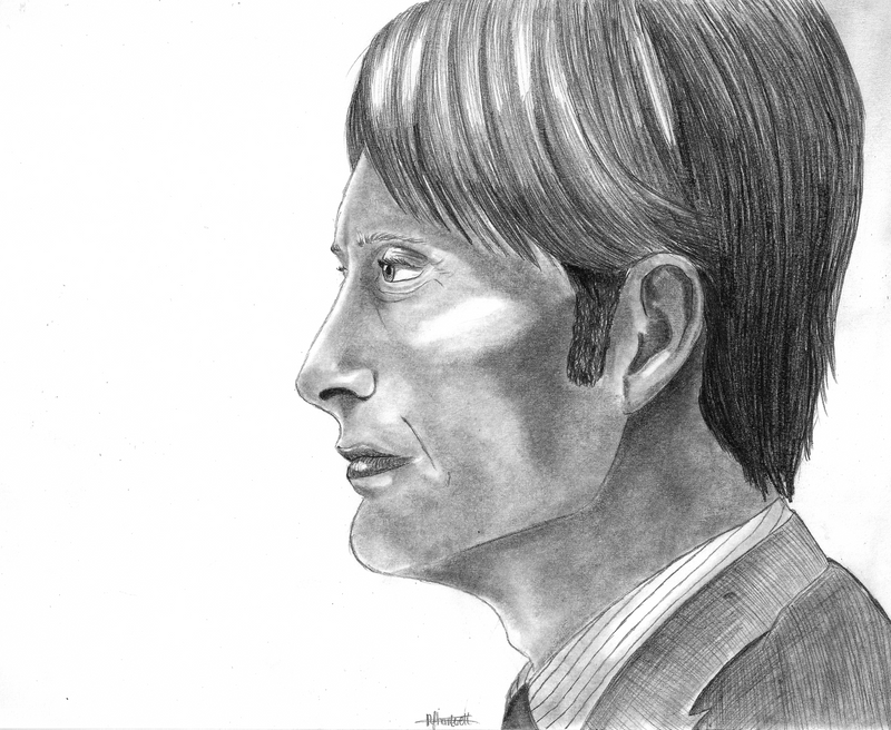 Hannibal - Mads Mikkelsen by Countess-Nynke