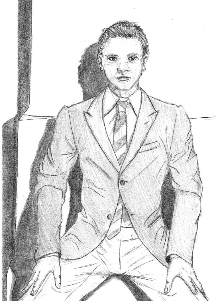 Young Daniel Craig by Countess-Nynke