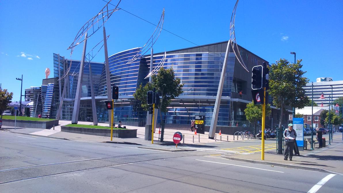 Christchurch Art Gallery by JerryWestaway