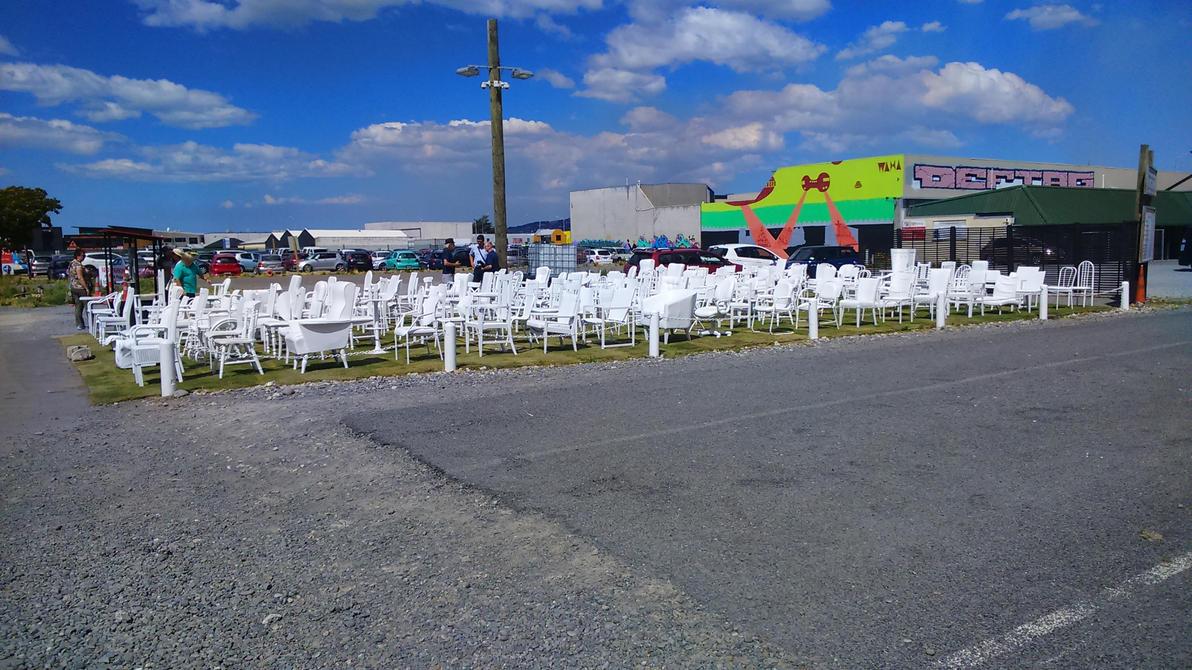 185 Chairs Memorial by JerryWestaway