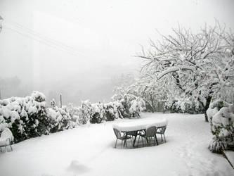 Blizzard in Ascoli Piceno by EdwardWho