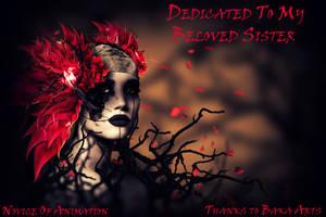 Dedication to my sister by NoviceOfAnimation