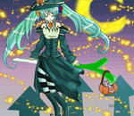 Happy Halloween - Miku Hatsune by madeeru-chan