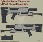 M95A2 Phased Plasma Rifle