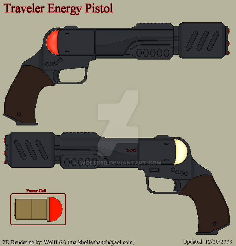 Traveler Energy Pistol by Wolff60