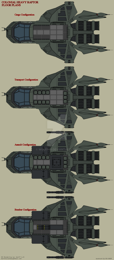 Heavy Raptor Floor Plans By Wolff60 On Deviantart