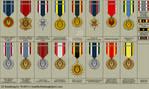 BSG Uniform Medals