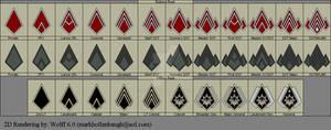 BSG CMC Rank pins