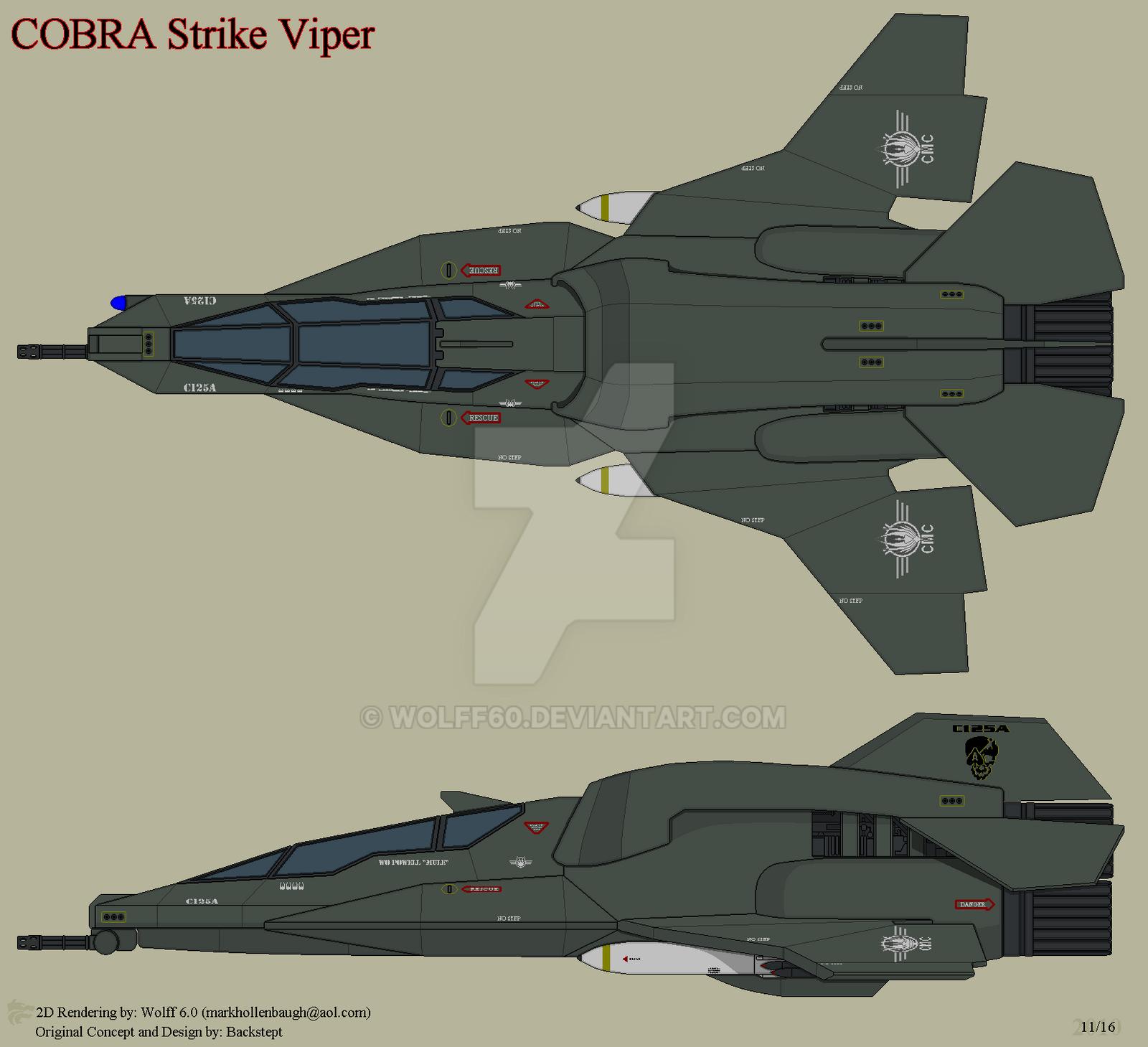 Cobra Strike Viper 182821232 on Traditional Colonial Floor Plans