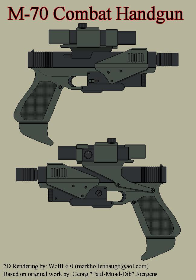 SAAB M-70 Combat Handgun by Wolff60