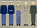 BSG Colonial Marine Uniforms