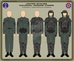 USCMC Combat Uniform and Armor