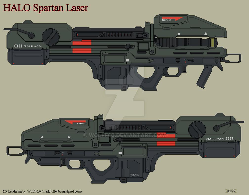 Halo Spartan Laser by Wolff60