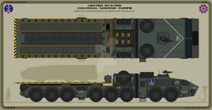 USCMC M642C Recovery and Repair Vehicle