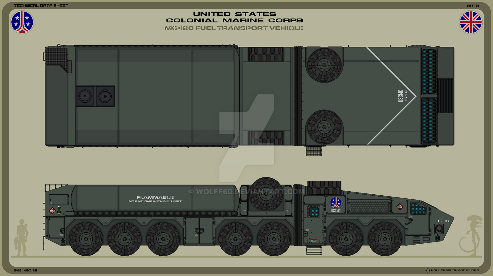 USCMC M642C Fuel Transport Vehicle by Wolff60