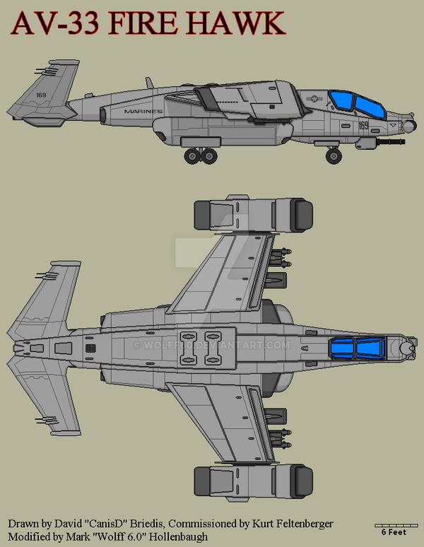 AV-33 F ire Hawk by Wolff60