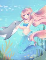 Little Mermaid by NezhieI