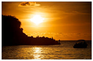 Fishermen sunset by Phil-67