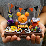 Halloween Disney Inspired Miniature Food by TheMicroBakery