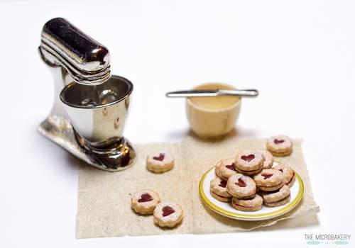 Linzer Jam Cookies 5
