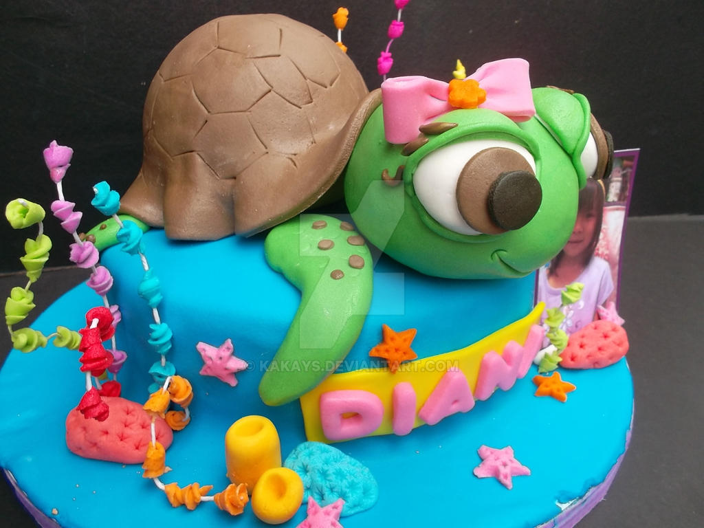 sea turtle wedding cake toppers sea turtle cake topper by kakays on deviantart 19730