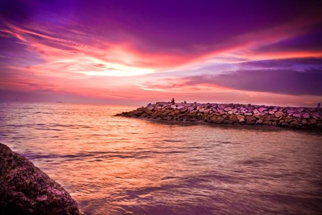 Purple Dawn by tempeyek
