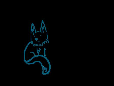 Fox Muro by 2tailed-fox