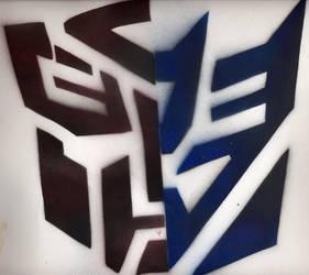 Transformers Stencil by crusty-punk