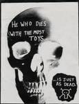 Anti-consumerism poster