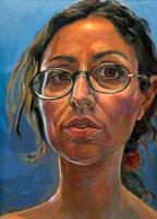 Self-portrait by LFalco