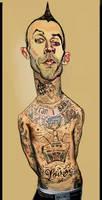 Travis Barker by LFalco